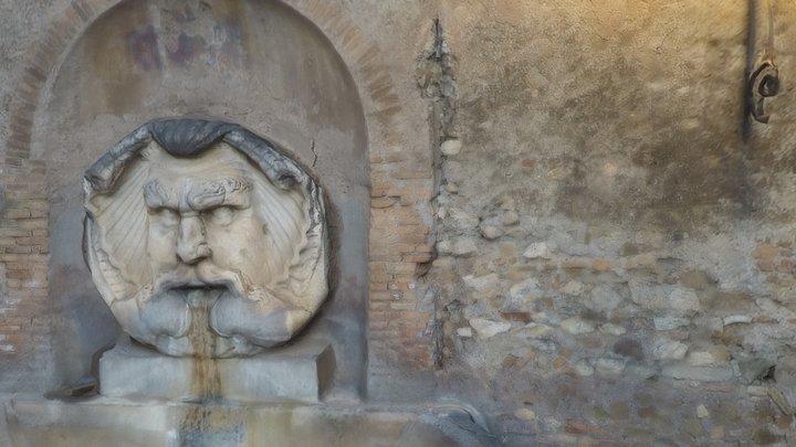 Fontana del Mascherone di Santa Sabina (Rome) 3D Model