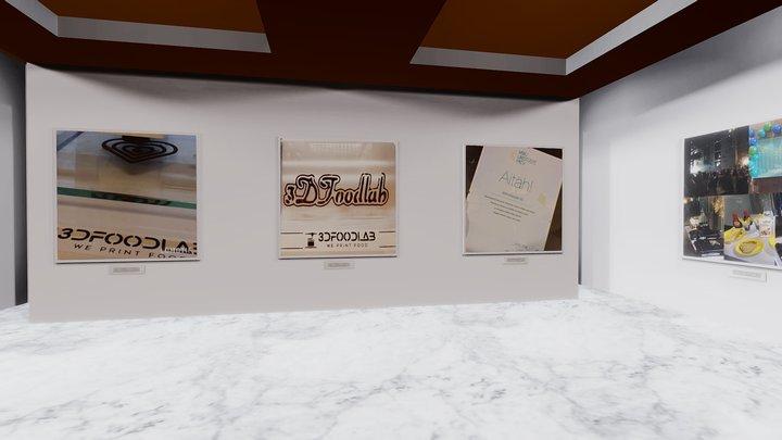 Instamuseum for @3dfoodlab 3D Model