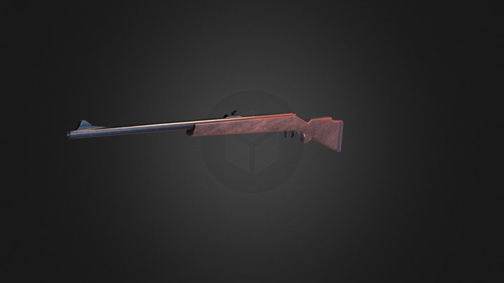 Basic Rifle 3D Model