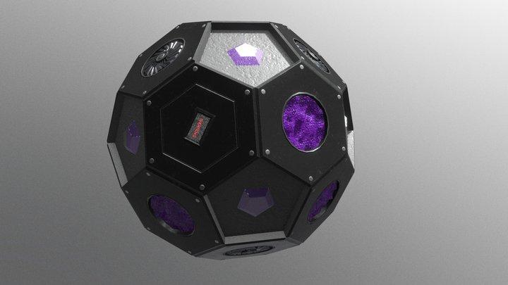 Slime Ball 3D Model