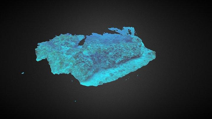 Heron Island, Great Barrier Reef, Australia 3D Model