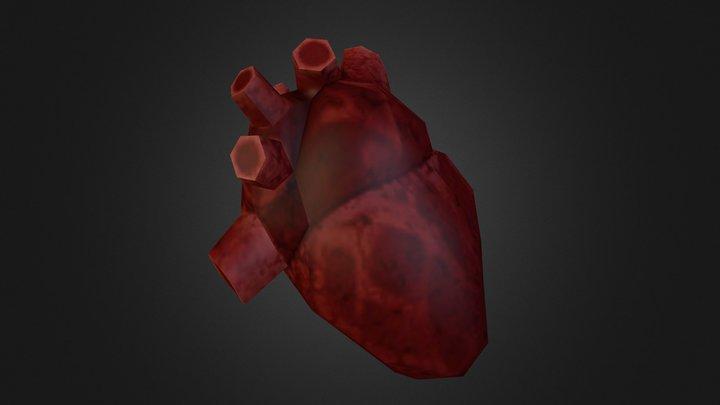 Heart(450poly) 3D Model