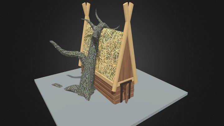 Simple_House 3D Model