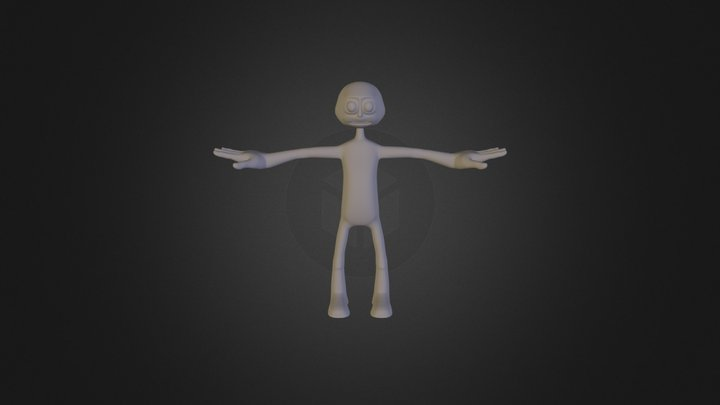 Smoothed Average Joe by Kamil 3D Model