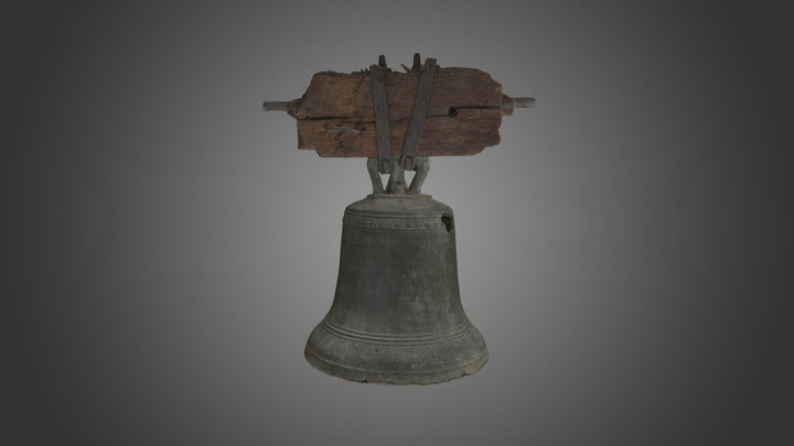 Bronze bell, late 14th or early 15th century 3D Model