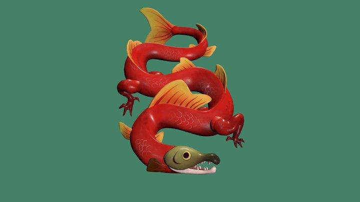 Lohikäärme 3D Model