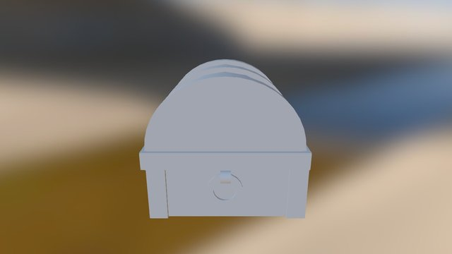 Treasure Box 3D Model