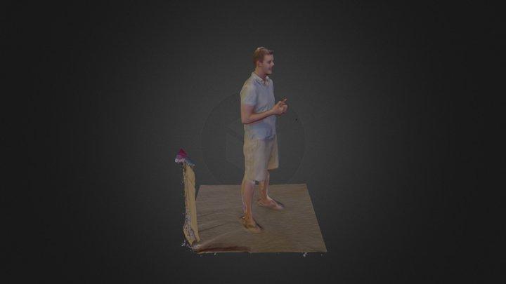 Michael C. Test 1 3D Model