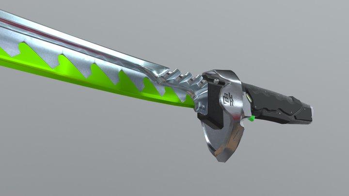 Genji´s Sword - Overwatch 3D Model