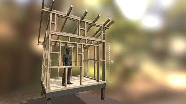La Cabane 3D Model