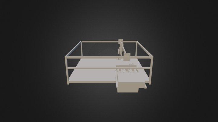 BioServer CNC and Incubator 3D Model