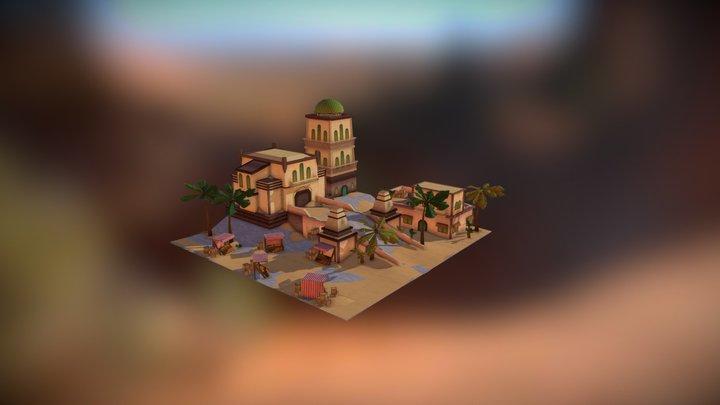 SandCity 3D Model