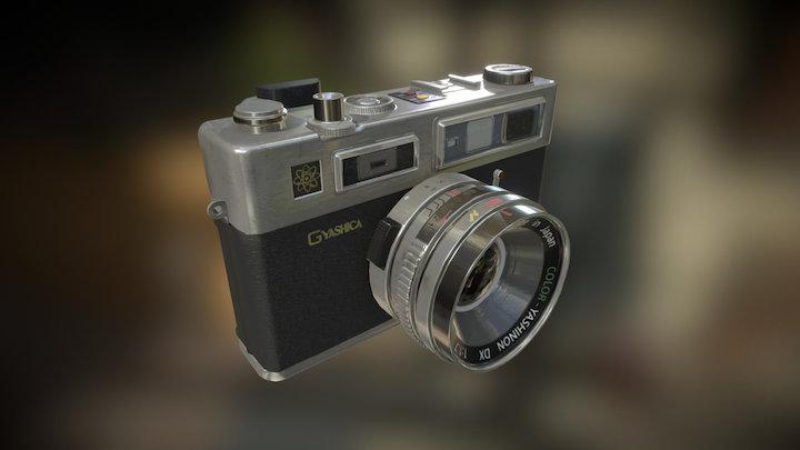 Camera - Yashica Electro 35 GSN 3D Model