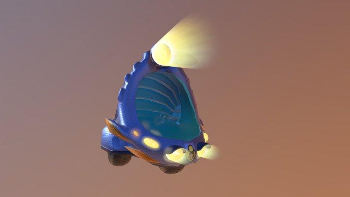 Beetle Bubble 3D Model