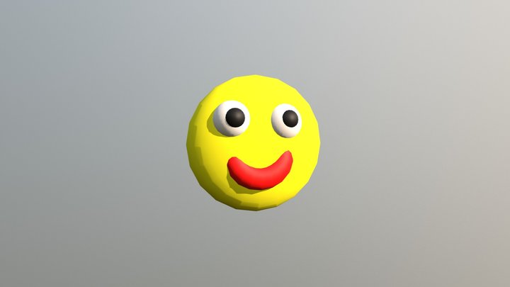 Smile by Carlos Cerqueira 3D Model