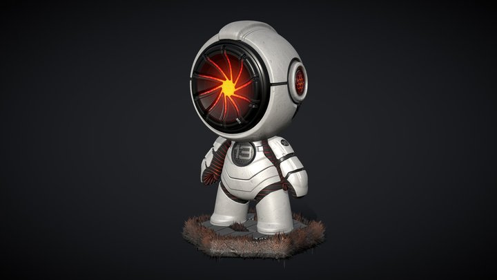 MEET MAT 2 - atomicman 13 3D Model