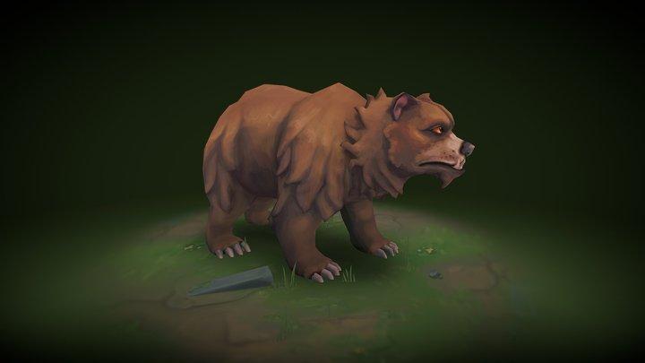 Grizzly Bear - Runescape 3D Model