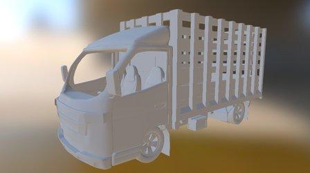 Foton Estacas 3D Model