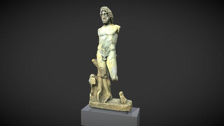 Statue of Neptune 3D Model