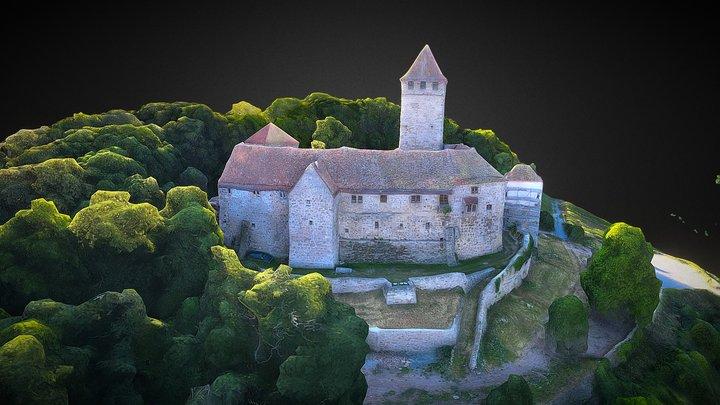 Burg Lichtenberg 3D Model