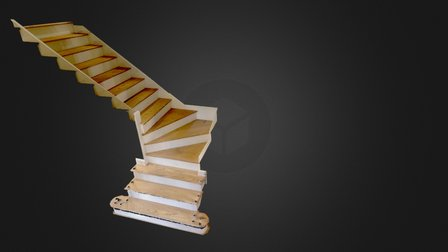 Stairs (3mm decimation) 3D Model
