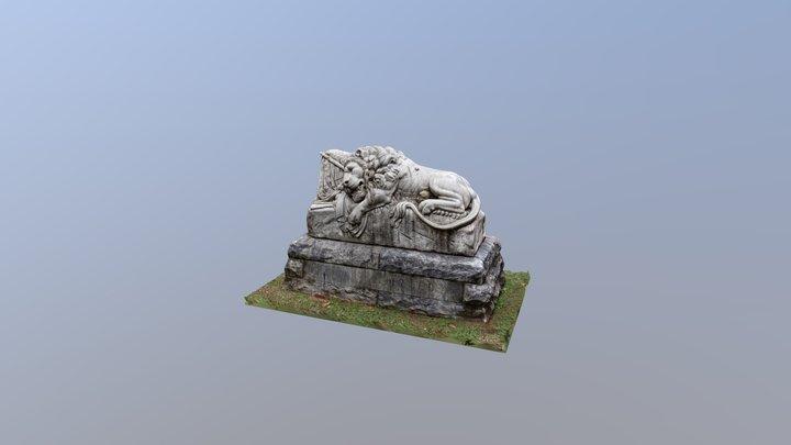 Oakland Cemetery - Unknown Confederate Dead 3D Model