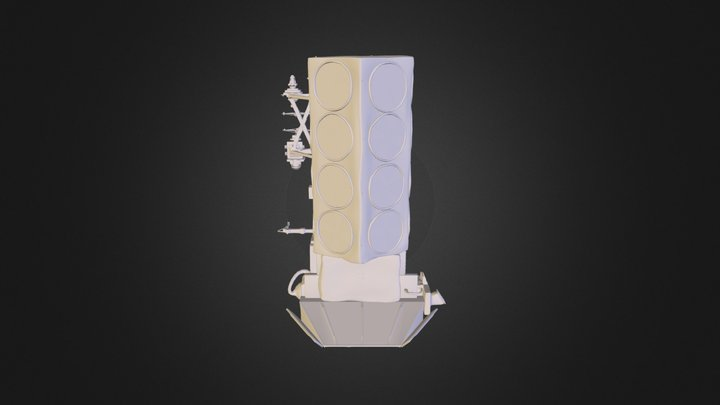 Poes Low Poly 3D Model
