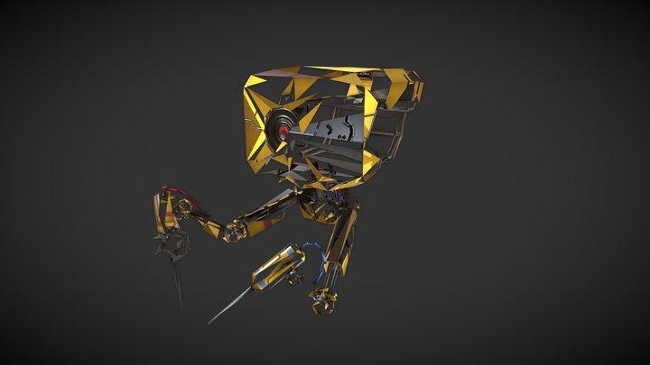 Welder drone 3D Model