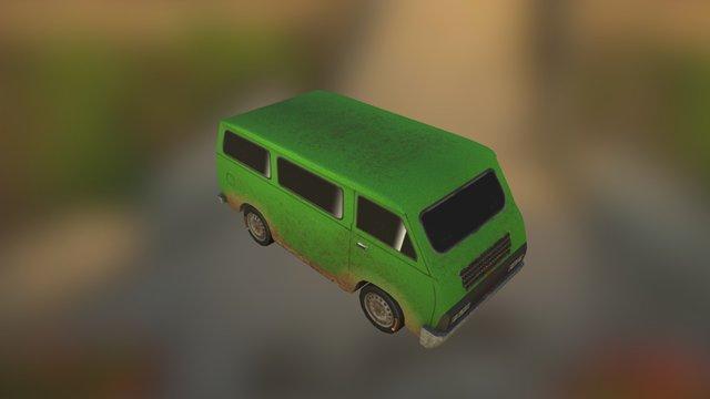 Prop Van 3D Model