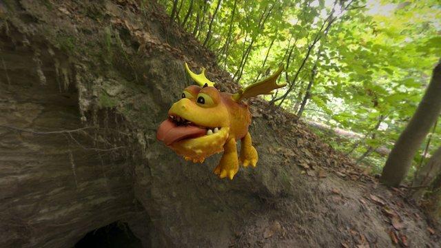 Agisoft Photoscan of Dragons Model 3D Model