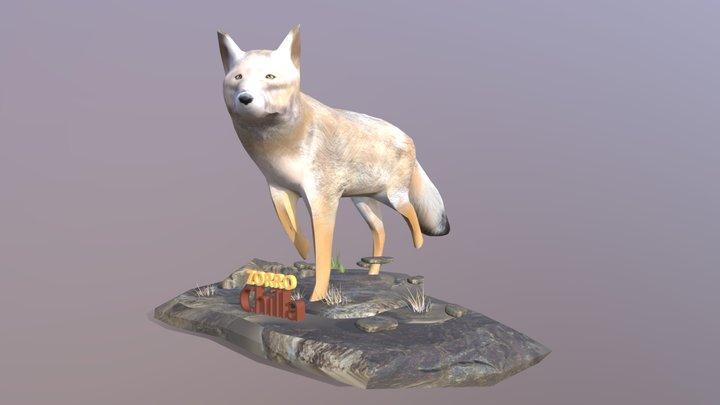 Zorro Chilla 3D Model