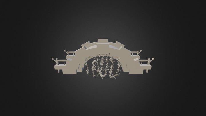 ROA Fire Bridge Wenkrogg 3D Model