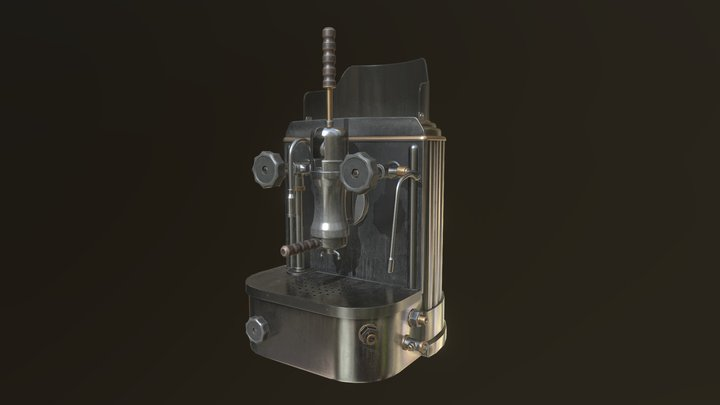 Willoughsby Coffee Maker 1 3D Model