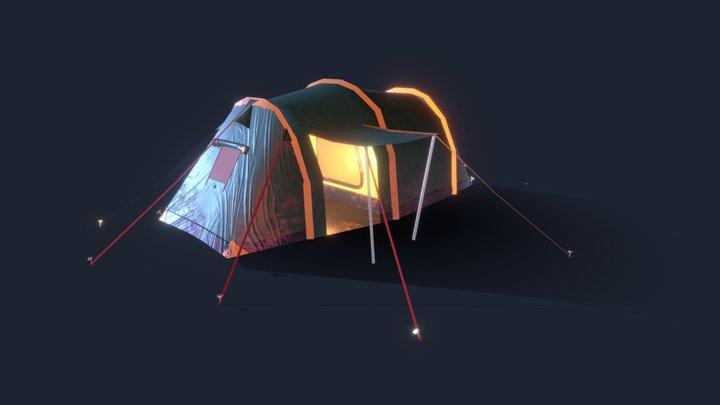 Day1_tent 3D Model