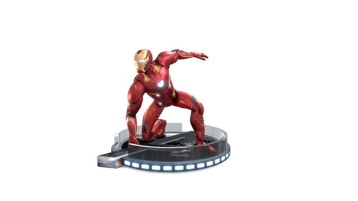 Iron Man Avengers Endgame / Infinity War Landing 3D Model