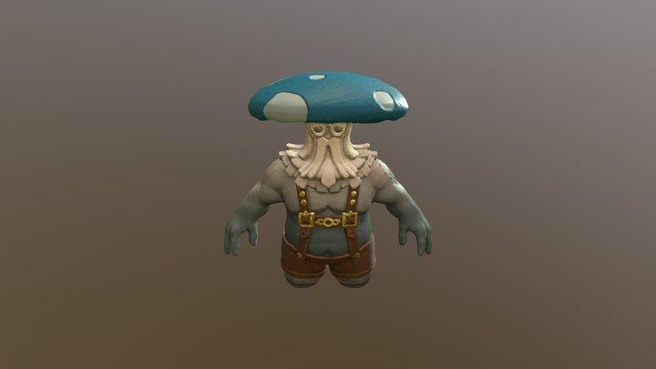 Mushroom Miner 3D Model