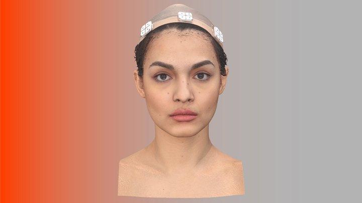 Chloe Parker Raw 3D Head Scan 3D Model