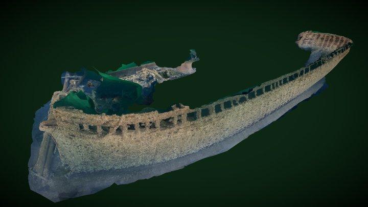 Eureka Hull 3D Model