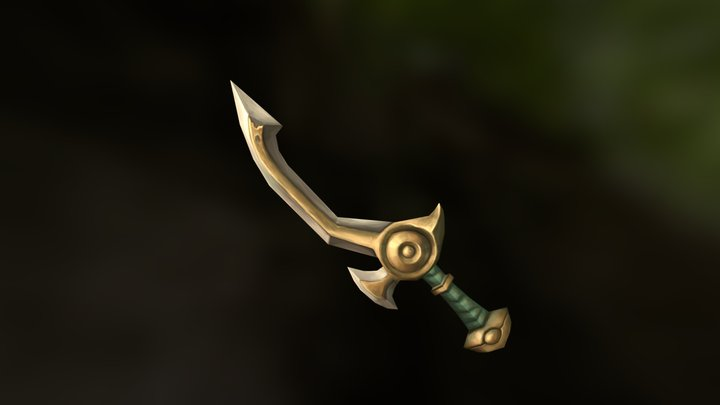 WoW Sword Test 3D Model