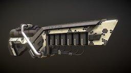 Slug Driver 3D Model