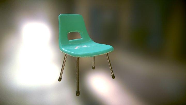 Fiberglass Chair MKII 3D Model