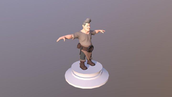 Hn Gnomen Petrshn 3D Model