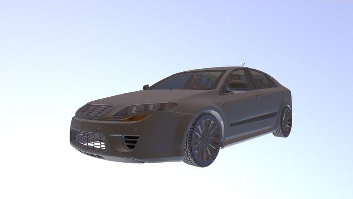 Dosch - Car Details V2 - OBJ 3D Model