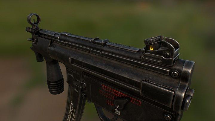 MP5K-N 3D Model