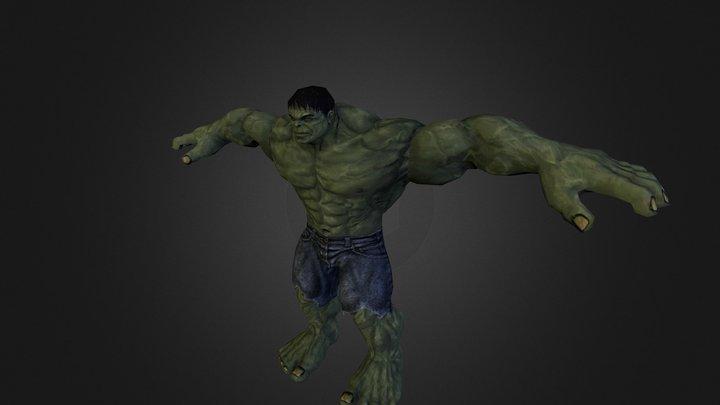 the hulk 3D Model