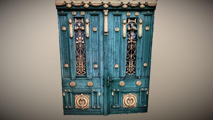 crafted door 3D Model