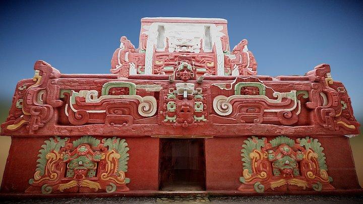 Rosalila Temple, Copan (mobile version) 3D Model