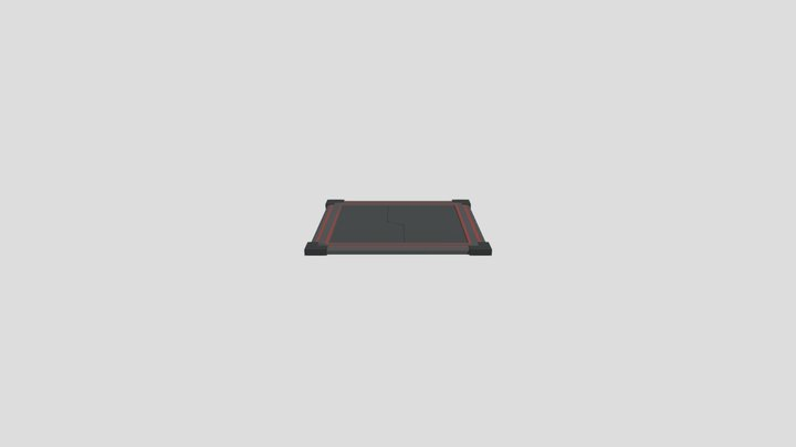 Trap Close Animation 3D Model