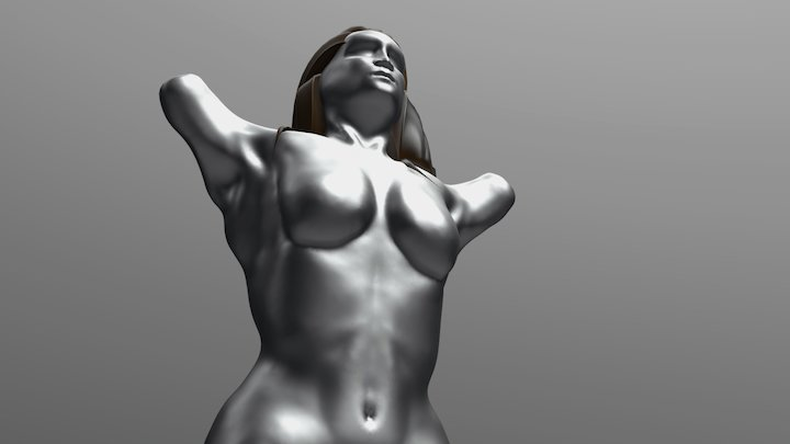Anatomy Sculpting Practice 3D Model