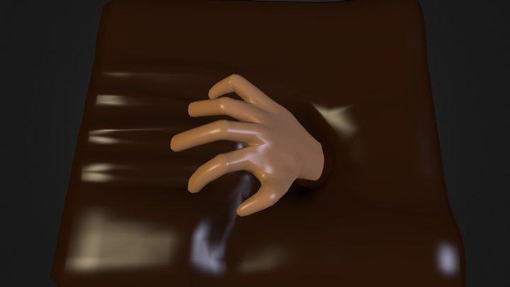 Hand Sketch 2 3D Model